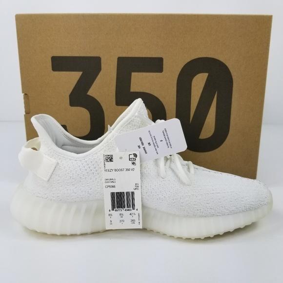 526063df0b4 Adidas Yeezy Boost 350 V2 Triple White Mens Sz 9